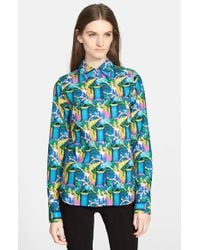 Creatures of the Wind - Tile Print Cotton Shirt - Lyst