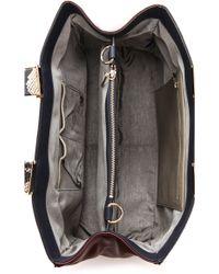 Pour La Victoire - Inez Colorblock Carryall Tote Bag - Lyst