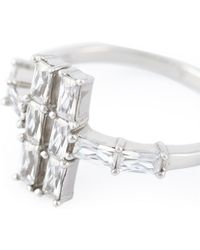 V Jewellery - 'lateral' Ring - Lyst
