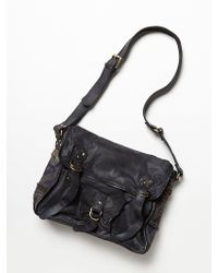 Free People Florence Leather Messenger - Lyst