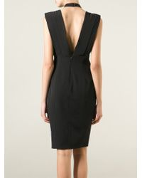 Violante Nessi | Draped Front Dress | Lyst