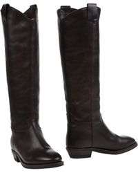 A Trois Boots brown - Lyst