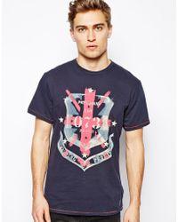 Pepe Jeans  Flag Logo T-Shirt - Lyst