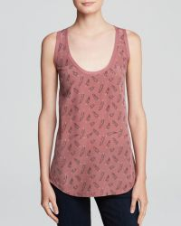 Joie Tank  Rain Spotted Feathers - Lyst