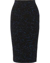 Proenza Schouler Paintsplattered Jersey Midi Skirt - Lyst
