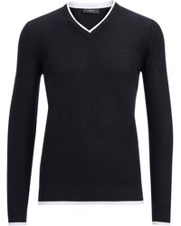 Joseph Basic Cashmere V Sweater - Lyst