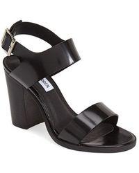 Steve Madden Women'S 'Blaair' Leather Slingback Sandal - Lyst