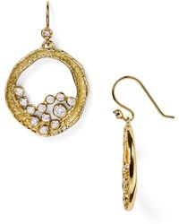 Melinda Maria - Emma Cluster Earrings - Lyst