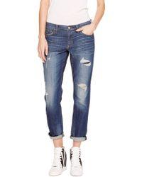 DKNY Jeans Boyfriend, Rip & Repair - Lyst