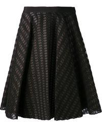 Giambattista Valli Textured Crochet Skirt - Lyst