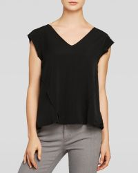 Rebecca Taylor Top - Cady Lace Inset - Lyst