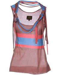 Vivienne Westwood Anglomania Top - Lyst