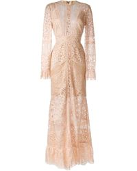 Elie Saab | Melrose Lace Dress | Lyst