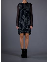 3.1 Phillip Lim Long Sleeve Dress - Lyst