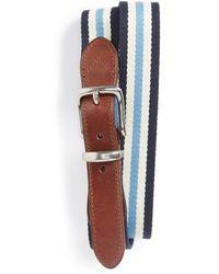 Polo Ralph Lauren Stripe Cotton Belt - Lyst