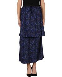 Cacharel Long Skirt - Lyst