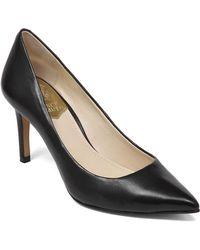 Vince Camuto Ressamae Leather Pumps - Lyst