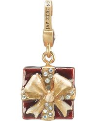 Jay Strongwater Present Crystal Charm - Lyst