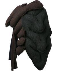 Comme Des Garçons Cardigan Knit Top - Lyst