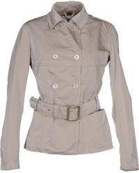 Geospirit Full-Length Jacket gray - Lyst