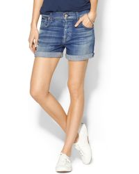 7 For All Mankind Relaxed Short - Lyst