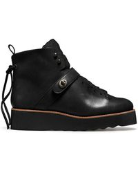 Coach X Blitz Urban Hiker Shearling Ankle Boots - Lyst