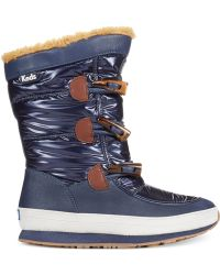 Keds - Women's Powder Puff Cold Weather Booties - Lyst