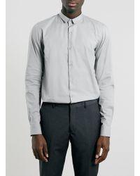 Vito - Gera Plain Long Sleeve Shirt - Lyst