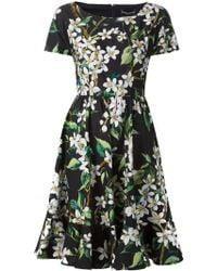 Dolce & Gabbana Floral Print Dress multicolor - Lyst