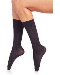 Wolford | Aileen Checked Socks | Lyst