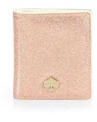 Kate Spade Glitter Bug Small Stacy Card Case - Lyst
