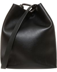 3.1 Phillip Lim Quill Mini Bucket Bag black - Lyst