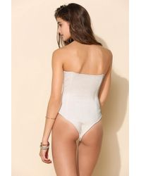Urban Outfitters - Beach Riot Crochet One-Piece Swimsuit - Lyst