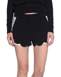 A.L.C. Aj Shorts black - Lyst