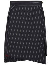 Vivienne Westwood Red Label - Women'S Heritage Suiting Pinstripe Skirt - Lyst