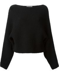 Alexander Wang Boat Neck Sweater - Lyst