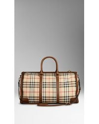 Burberry The Large Alchester In Horseferry Check - Lyst
