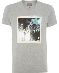 Converse Polaroid Graphic T Shirt - Lyst