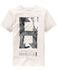 Guess 8 Graphic T-Shirt - Lyst
