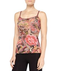 Hanky Panky Tapestry Floral-print Lace Cami - Lyst
