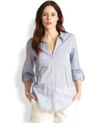 Joie Cartel Chambray Shirt - Lyst