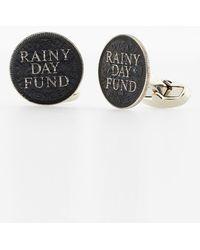 Paul Smith 'Rainy Day Fund' Penny Cufflinks - Lyst
