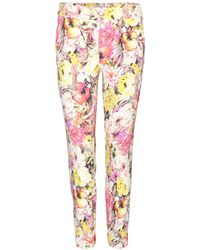 Etro Printed Trousers - Lyst
