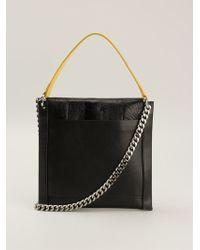 Jil Sander Square Shape Shoulder Bag - Lyst