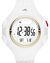 adidas Originals - Questra White And Gold Large Polyurethane Watch - Lyst