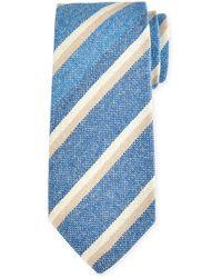 Petronius - Striped Cashmere Tie - Lyst