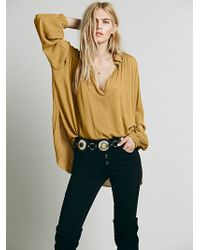 Free People Womens Fp One Hallowed Hill Pullover - Lyst