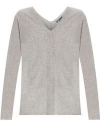 Vince Double Cashmere Sweater - Lyst