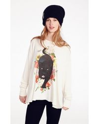 Wildfox Couture Panther Prowl Effortless Thermal - Lyst