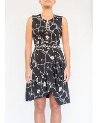 Preen | Aime Dress Leaf Print | Lyst